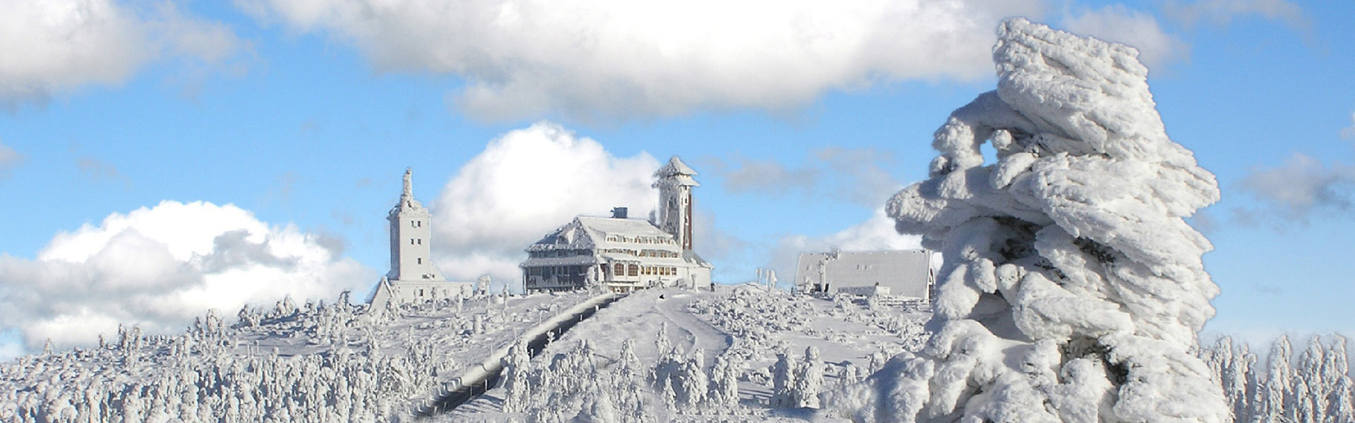 Fichtelberg im Winter